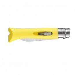 Ніж Opinel 9 DIY, жовтий (001804)