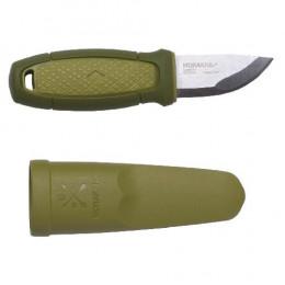 Ніж Morakniv Eldris нержавіюча сталь колір зелений з піхвами