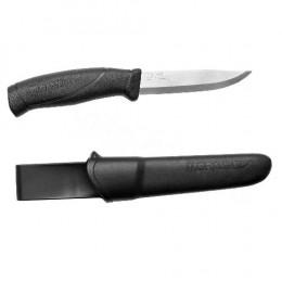 Ніж Morakniv Companion Black нержавіюча сталь колір чорний