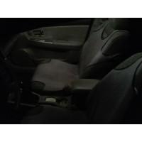Сравнение качества освещения от штатных автомобильных ламп и от светодиодных лампы в салоне автомобиля KIA CERATO
