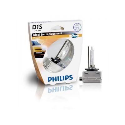 Лампа ксеноновая Philips D1S Vision, 4600K, 1шт/блистер