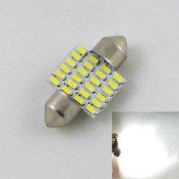 Светодиодная лампа SLS LED в номера SV8,5(C5W) 31mm 24-3014 Белый