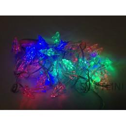 Гирлянда нить (String) с наконечниками разноцветная 1