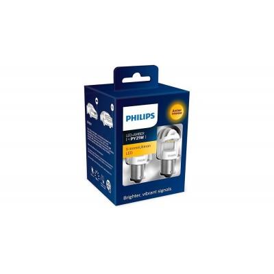 Светодиодные лампы PY21W Philips 11498XUAXM X-tremeUltinon LED gen2 (Amber)