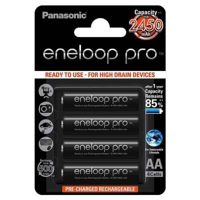 Аккумулятор Panasonic Eneloop XX (AA 2450mAh) 1 ШТУКА