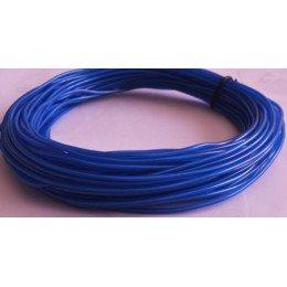 Электролюминесцентный провод (холодный неон) III поколение, диаметр- 2.2мм., цвет- Синий
