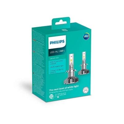 Cветодиодные лампы головного света Philips 11972ULWX2 Ultinon LED для цоколя H7