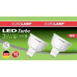 Промо-набор LED Лампа EUROLAMP MR16 3W GU5.3 4000K