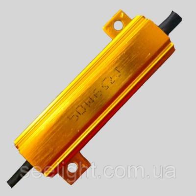 Нагрузочный резистор 50Вт., 6 Ом.