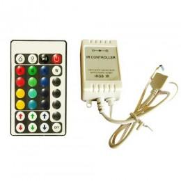 Контроллер для LED ленты RGB IK-управление 28 кнопок 72 ВТ.