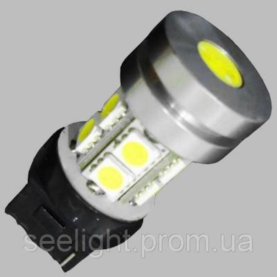 Светодиодная лампа с цоколем T20(7440) 10-5050+1W-Белый