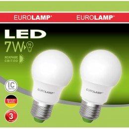 Промо-набор LED Лампа EUROLAMP EKO A50 7W E27 4000K