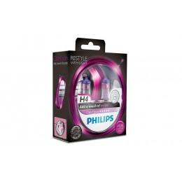 Галогенная лампа H4 Philips 12342CVPGS2 ColorVision фиолетовый