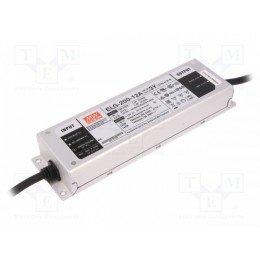 Драйвер Mean Well для светодиодов (LED) 192 Вт 12V 16 А ELG-200-12A