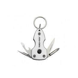Swiss+Tech Key Ring multi-tool 7-in-1
