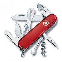 1.3703 Ніж Victorinox Swiss Army Climber червоний