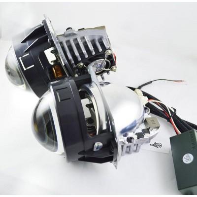 Автомобильные Led билинзы SLB-LED, 3000 Люмен, 3 дюйма
