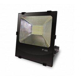 LED Прожектор EUROELECTRIC COB черный с радиатором 100W 6500K