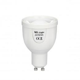 Светодиодная лампочка MiLight диммируемая 5Вт GU10 Dual White LED Spotlight ССT (2700-6500K) 220V
