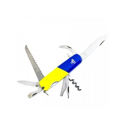 Нож Ego A01.9, синежелтый