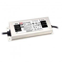 Драйвер Mean Well для светодиодов (LED) 48 Вт 12V 5 А ELG-75-12