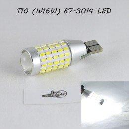 Светодиодная авто лампа SLP LED с цоколем T15(W16W)  87 led 3014 в задний ход