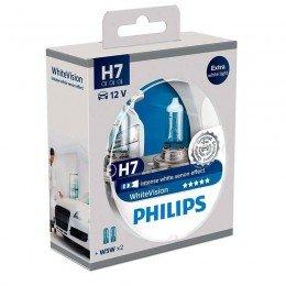 Галогенная лампа H7 Philips 12972WHVSM WhiteVision