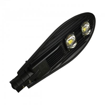 LED Светильник уличный EUROLAMP COB черный 100W 6000K classic