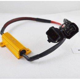 Обманка бортового компьютера с резистором  50Вт., 8 Ом. под цоколь P13W (PSX26W)