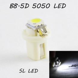 LED лампа в подсветку приборной панели, цоколь B8.5D SL LED белый