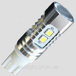 Светодиодная лампа  с цоколем T10(W5W) samsung (2323)-10W-9-30V