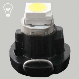 Светодиодная лампа в приборную панель, цоколь T3 1210(3528)-1 Белый