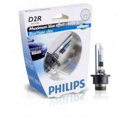 Ксеноновая лампа D2R Philips 85126BVUS1 BlueVision Ultra (блистер)
