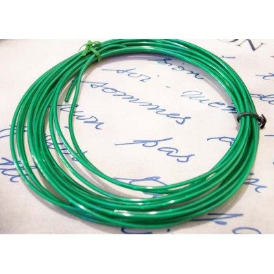 Электролюминесцентный провод (холодный неон) III поколение, диаметр- 2.2 мм., цвет- Зеленый