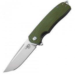 Нiж складний Bestech Knife LION Army Green BG01B