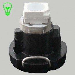 Светодиодная лампа в приборную панель, цоколь T3 1210(3528)-1 Зеленый