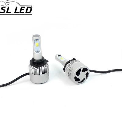 Установочный набор LED ламп в основные фонари SLP S2-LED Цоколь HB4, 9006, 35W, 5000 Люмен/Комплект
