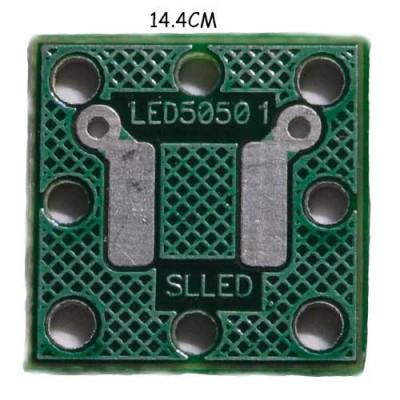 Печатная плата под светодиод типа 5050  3,3 В./12 В.