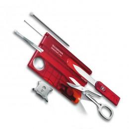 0.7300.T Набір Victorinox Swiss Card Lite червоний