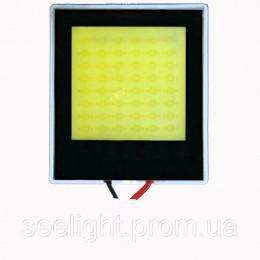 Светодиодная  панель для освещения салона автомобиля 24W-COB