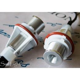 Светодиодные лампы (ангельские глаза) BMW 5W  450 LUMEN