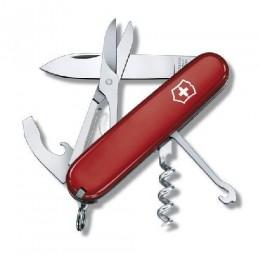 Ніж Victorinox Swiss Army Compact 1.3405 червоний (Vx13405)