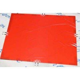 Электролюминесцентная бумага (EL бумага) 125*150мм. Красный цвет