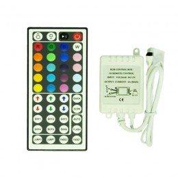 Контроллер для LED ленты RGB IK-управление 44 кнопок 72 ВТ.