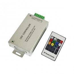 Контроллер для LED ленты RGB радиоуправление 20 кнопок 288 ВТ.