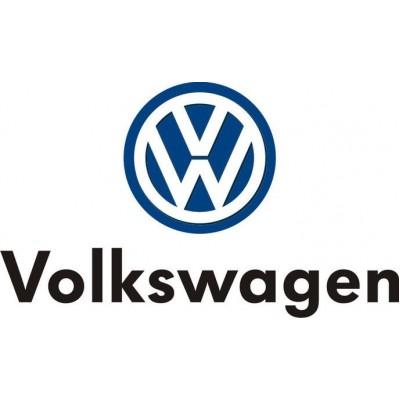 Автомобильный логотип Volkswagen 11*11см. хромированная накладка