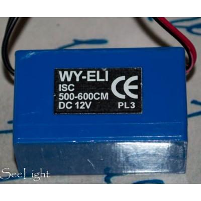 Инвертор для холодного неона серии ISC 12V 10-12m/5-6m.