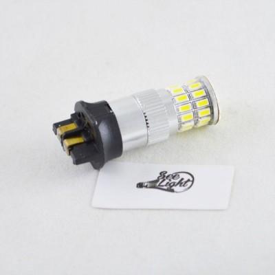 Led лампа в габарит, ДХО SLP LED, цоколь PW24W 36-3014 led, 9-30 В. Белый