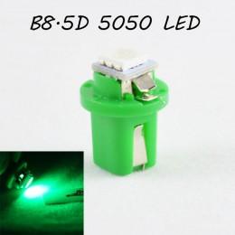 LED лампа в подсветку приборной панели, цоколь B8.5D SL LED зеленый