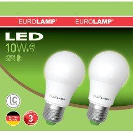 Промо-набор LED Лампа EUROLAMP EKO A60 10W E27 4000K